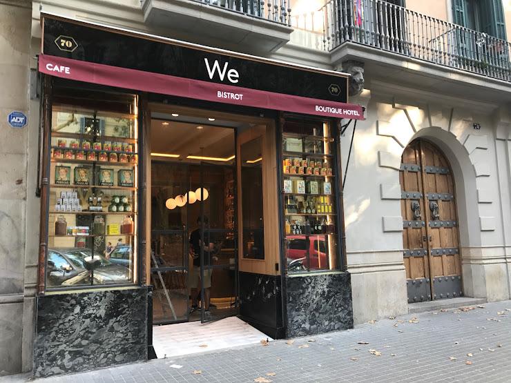 We Bistrot Ronda de Sant Pere, 70, Local, 08010 Barcelona