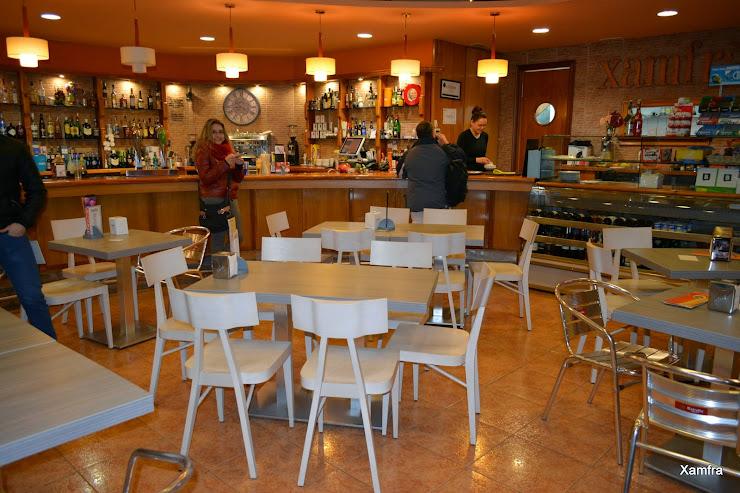 Restaurant Xamfra Avinguda del Mediterrani, 80, 08397 Pineda de Mar, Barcelona