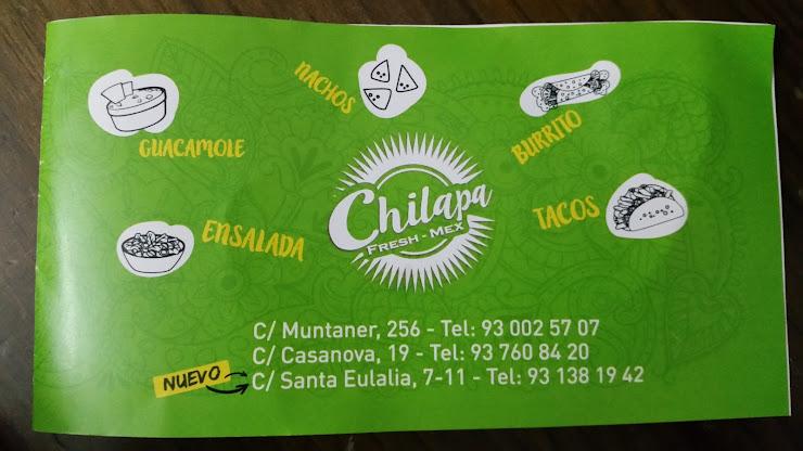 Chilapa Fresh-Mex Hospitalet Carrer Santa Eulàlia, 7, 11, 08902 Hospitalet de Llobregat, Barcelona