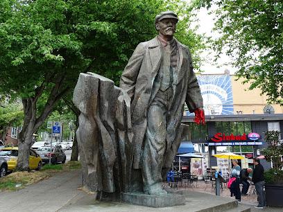 Statue of Lenin in Seattle WA
