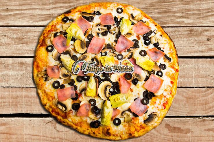 Tiago La Pizza Carrer de València, 158, 08011 Barcelona