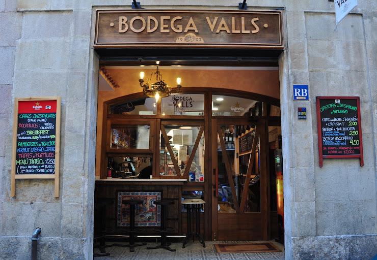 Bodega Valls Carrer de la Unió, 28, 08001 Barcelona