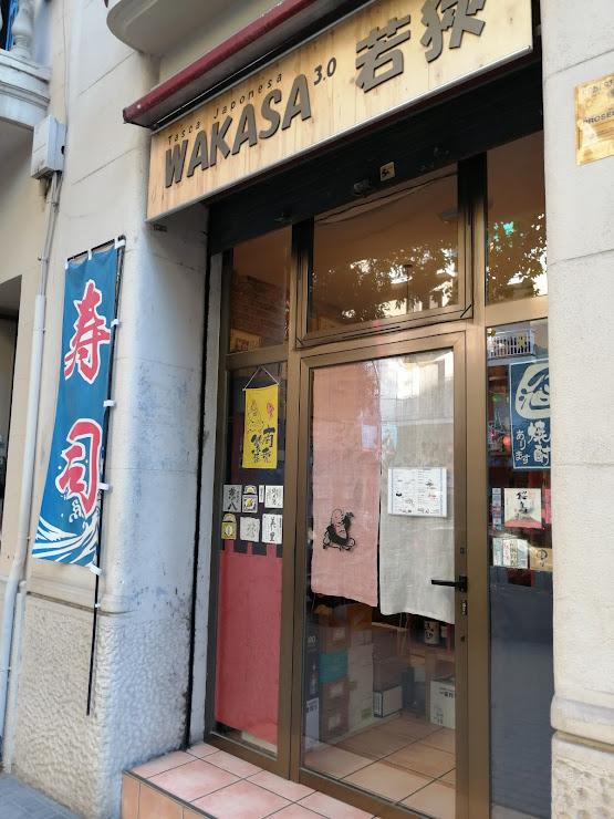 Tasca Japonesa WAKASA 3.0 Carrer de Nàpols, 287, 08025 Barcelona