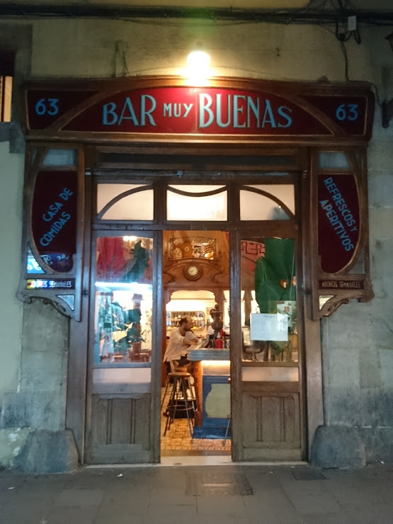 Bar Muy Buenas Carrer del Carme, 63, 08001 Barcelona