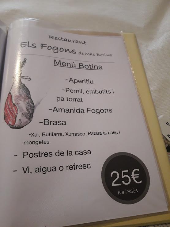 Restaurant Els Fogons de Mas Botins ctra ,desant sadurni d' Anoia a vilafranca del penedes, 243, 08792 Santa Fe del Penedès, Barcelona