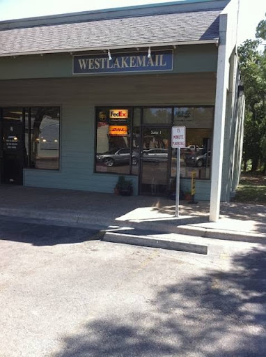 WEST LAKE MAIL, 3736 Bee Caves Rd #1, West Lake Hills, TX 78746, Shipping Company