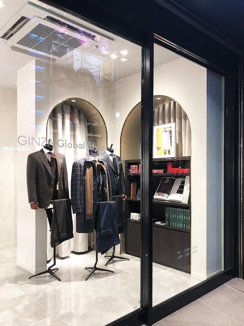 オーダースーツ GINZA グローバルスタイル 銀座新本店