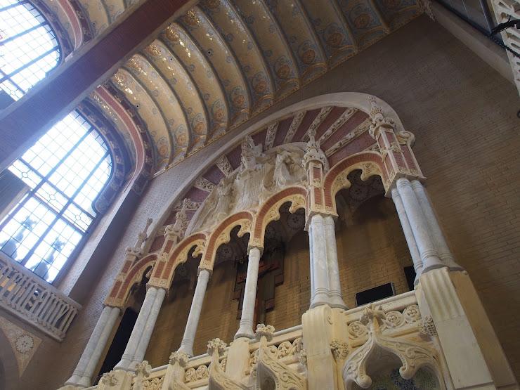 Hospital de la Santa Creu i Sant Pau Carrer de Sant Quintí, 89, 08041 Barcelona