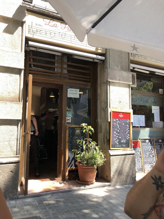 Restaurante La Particcela Carrer de Girona, 90, 08009 Barcelona