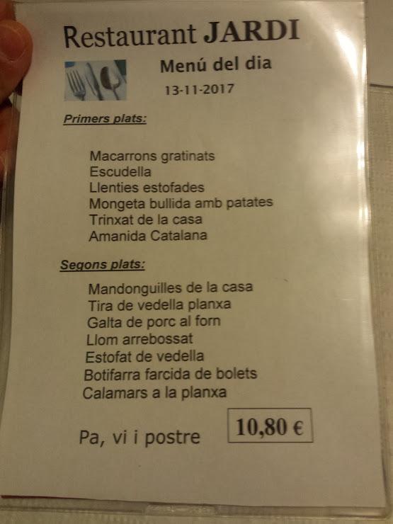 Restaurant Cafeteria Jardí Carrer de Cartagena, 217, 08013 Barcelona