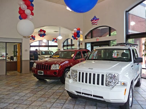 Jeep Chrysler Dodge City, 631 West Putnam Avenue, Greenwich, CT 06830, Jeep Dealer