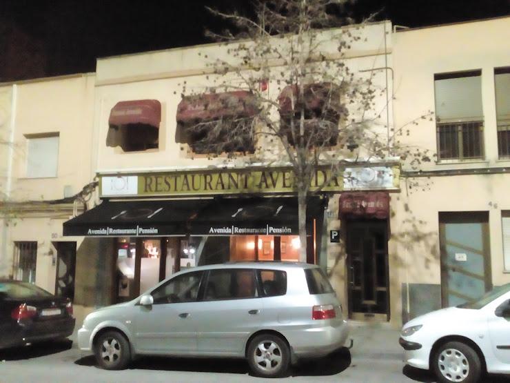 Pensión Restaurante AVENIDA Carrer d'Eugeni d'Ors, 48, 08720 Vilafranca del Penedès, Barcelona