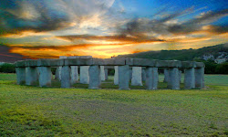 Stonehenge II at the Hill Country Arts Foundation