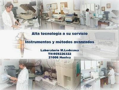 Laboratorio Análisis Clínicos M. Ledesma