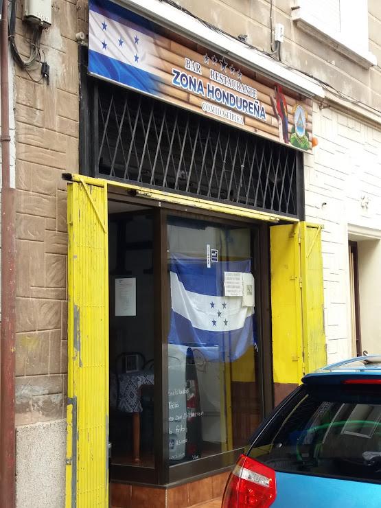 Bar restaurante zona hondureña /adelmo Carrer del Molí, 25, 08016 Barcelona
