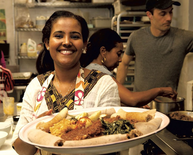 EL DELICIOS  nuevo restaurante de etiopia ; con opcion vegana ;.Barcelona , Gracia Carrer de Ca l'Alegre de Dalt, 6, 08024 Barcelona