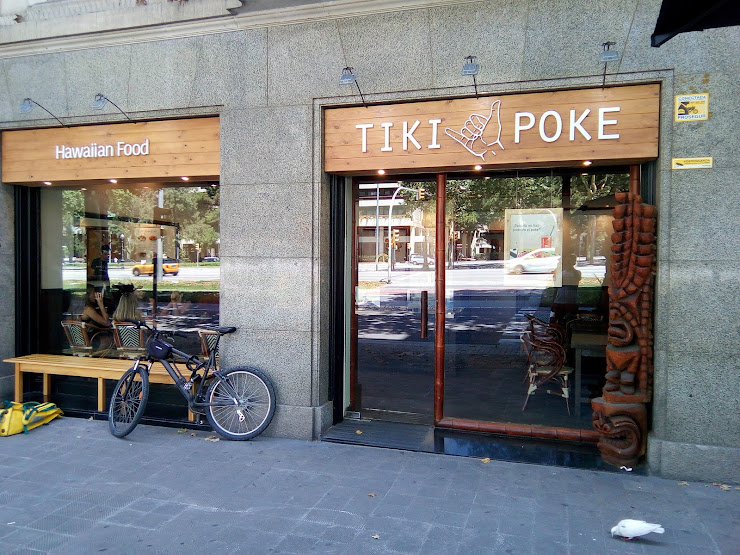 TIKI POKE Avinguda Diagonal, 535, 08029 Barcelona