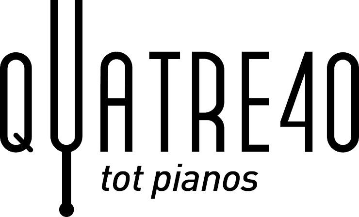 Quatre40 Pianos Carrer de la Providència, 37, 08024 Barcelona