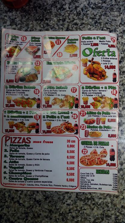 Hadi Doner Kebab Av. Gatassa, 83, 08303 Mataró, Barcelona