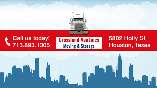 CrossLand Van Lines & Storage, 5802 Holly St, Houston, TX 77074, Moving and Storage Service