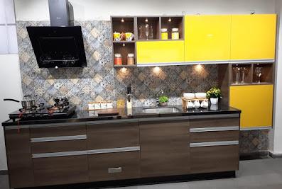 Sleek Kitchen Studio by asianpaints – BilaspurBilaspur
