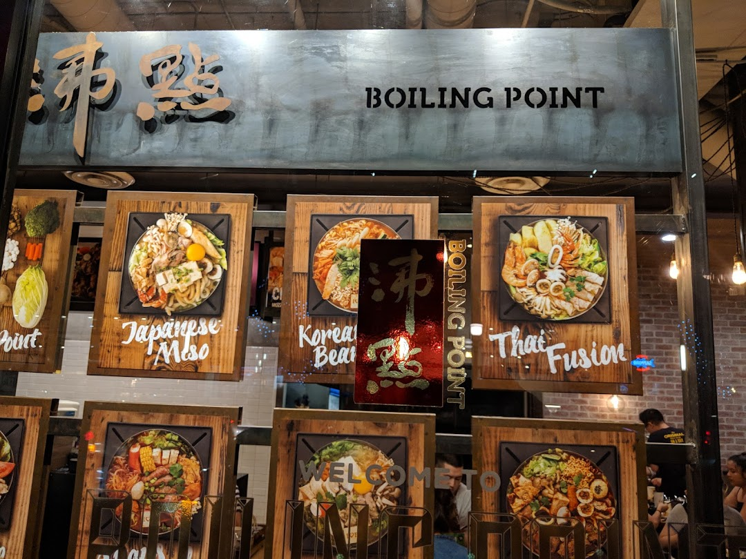 Boiling Point Concept in the city Pasadena