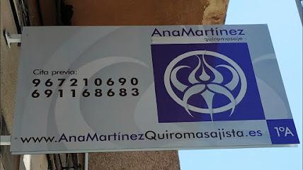 imagen de masajista Ana Martinez -Sala de Quiromasaje-