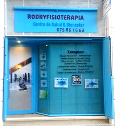 imagen de masajista RODRY FISIO servicio domicilio Barcelona y baix Llobregat tambien consulta en Viladecans Sant boi y Barcelona