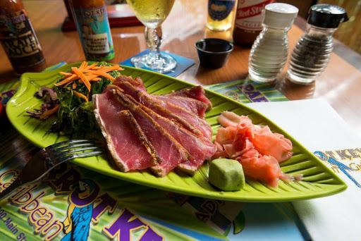 Caribbean Restaurant «Parrot Key Caribbean Grill», reviews and photos, 2500 Main St, Fort Myers Beach, FL 33931, USA