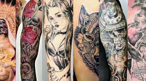 Pink Shark Tattoo