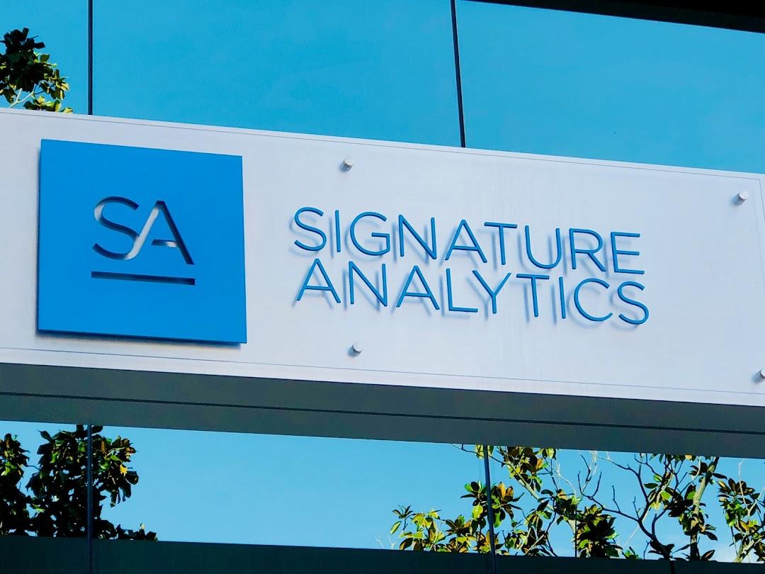 Signature Analytics San Diego