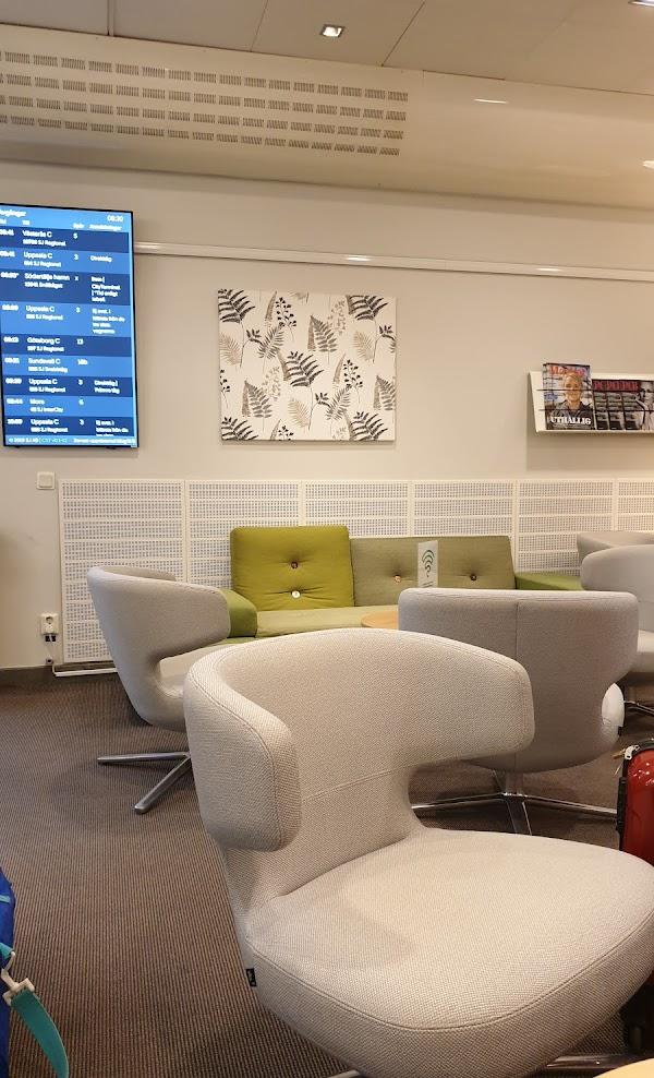 Sj lounge stockholm