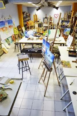Academia de pintura ESTUDIO 2. Mikel Berrojalbiz.