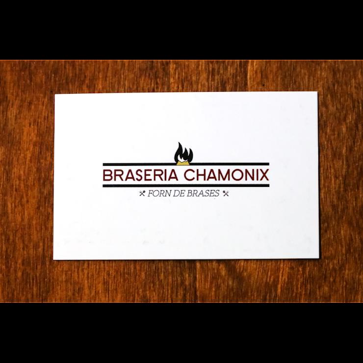 Braseria Chamonix Carrer de Còrsega, 641, 08025 Barcelona