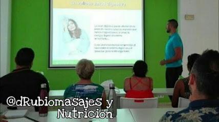 imagen de masajista @dRubiomasajes y Nutrición
