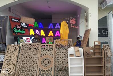 Adville (Factory) 3D Signage Signboards/Modular Grills/Modular Interior/Modular Kitchen/Wall DecorSrinagar