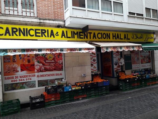 Carnicería  Alimentación Halal