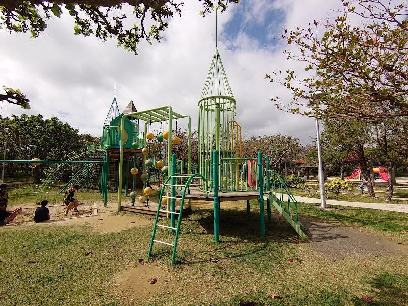 沖縄県総合運動公園 大型複合遊具