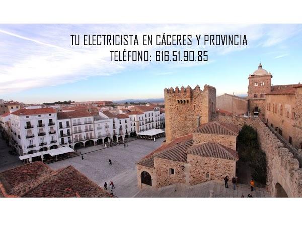 ELECTRICISTAS EXTREMADURA CÁCERES
