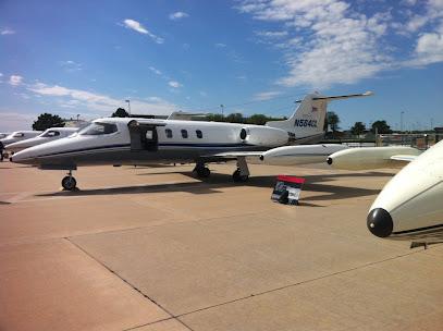 Aerospace company Bombardier Learjet