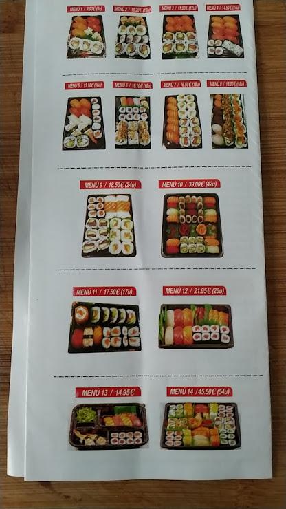 Sushi m'agrada Passeig del Port Esportiu, 17-19, 08320 El Masnou, Barcelona
