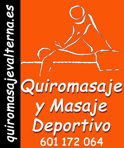 imagen de masajista Quiromasaje Valterna