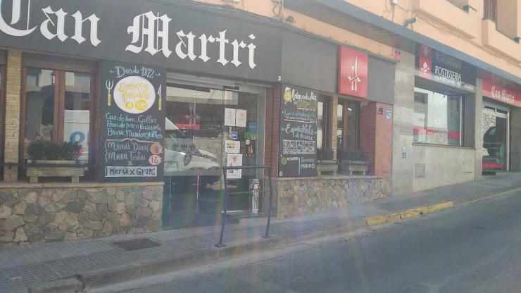 Bar-Restaurant Can Martri Carrer Centre, 3, 08396 Sant Cebrià de Vallalta, Barcelona
