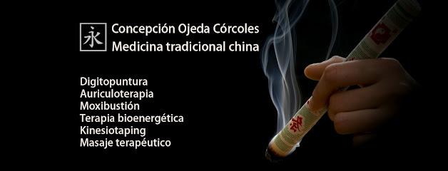 imagen de masajista Concepción Ojeda Córcoles. Medicina tradicional china.