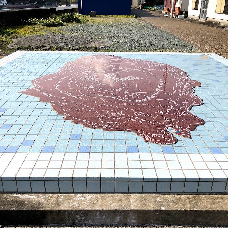 波浮港 踊り子の里 大島石地図