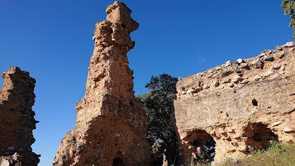 Castillo de Castro Ferral - en ruinas