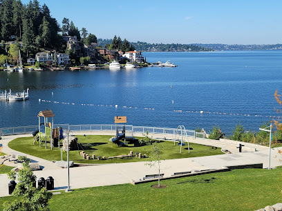 Meydenbauer Bay Park in Seattle WA