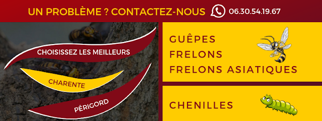 deratiseur Charente Périgord Guêpes Frelons VILHONNEUR