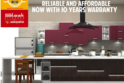 Sleek Kitchens By Asian PaintsPatiala