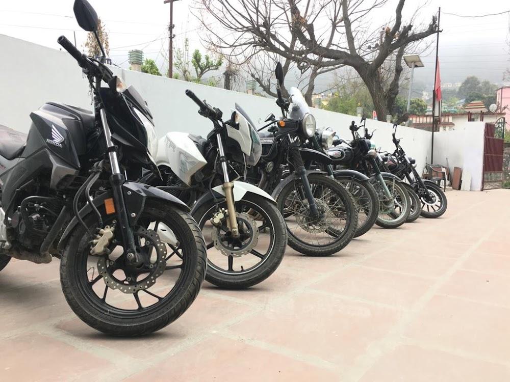 Bike on rent in dehradun